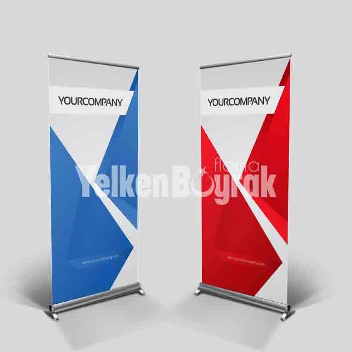 Roll Up Banner Ölçüsü
